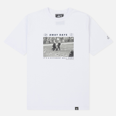Мужская футболка Peaceful Hooligan Away White