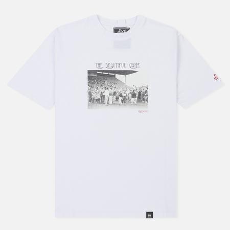 Мужская футболка Peaceful Hooligan Beautiful Game White