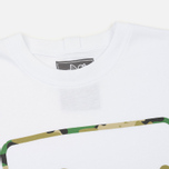 Мужская футболка Peaceful Hooligan Camo Box White фото- 1