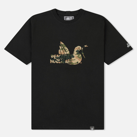 Мужская футболка Peaceful Hooligan Camo Dove Black