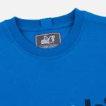 Peaceful Hooligan Casuals Men's T-shirt Bright Blue photo- 1