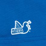 Peaceful Hooligan Casuals Men's T-shirt Bright Blue photo- 3