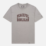 Peaceful Hooligan College Men's T-shirt Frost Grey photo- 0