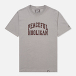 Мужская футболка Peaceful Hooligan College Frost Grey фото- 0
