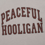 Peaceful Hooligan College Men's T-shirt Frost Grey photo- 2