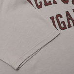 Peaceful Hooligan College Men's T-shirt Frost Grey photo- 4