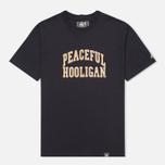 Мужская футболка Peaceful Hooligan College Navy фото- 0