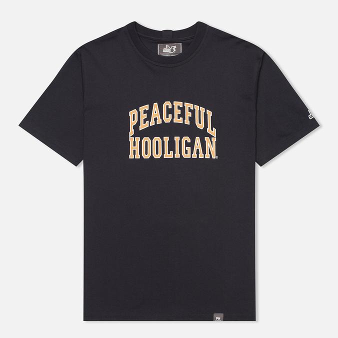 Мужская футболка Peaceful Hooligan College Navy