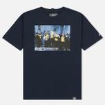Мужская футболка Peaceful Hooligan Cop Navy фото- 0