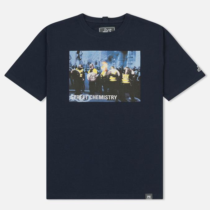 Мужская футболка Peaceful Hooligan Cop Navy