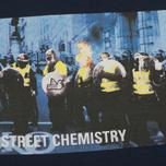 Мужская футболка Peaceful Hooligan Cop Navy фото- 2