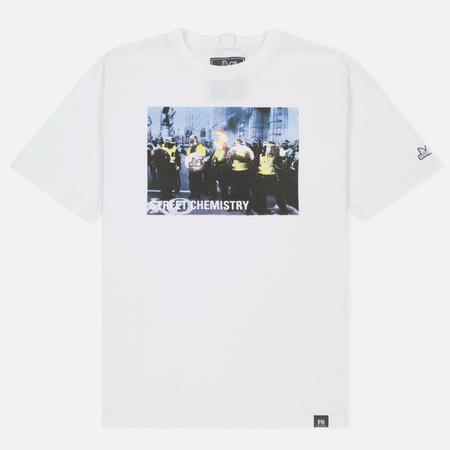 Мужская футболка Peaceful Hooligan Cop White
