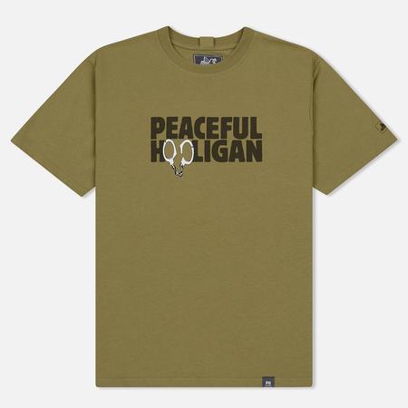 Мужская футболка Peaceful Hooligan Cuffs Herb