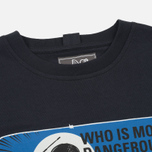 Мужская футболка Peaceful Hooligan Dangerous Navy фото- 1