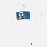 Мужская футболка Peaceful Hooligan Dangerous White фото- 0