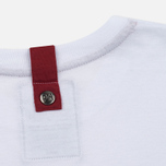 Peaceful Hooligan Deck Men's T-shirt White/Navy/Jester Red photo- 3