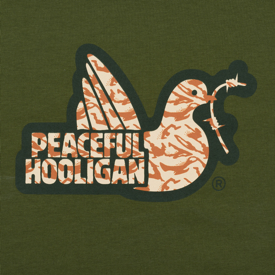 Мужская футболка Peaceful Hooligan Desert Dove Cypress