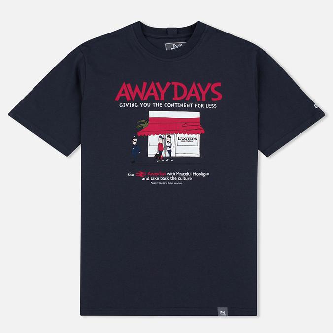 Мужская футболка Peaceful Hooligan European Excursion Navy