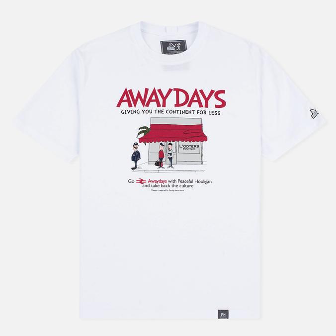 Мужская футболка Peaceful Hooligan European Excursion White