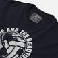 Мужская футболка Peaceful Hooligan Fame Navy фото - 1