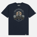 Мужская футболка Peaceful Hooligan Gas Navy фото- 0