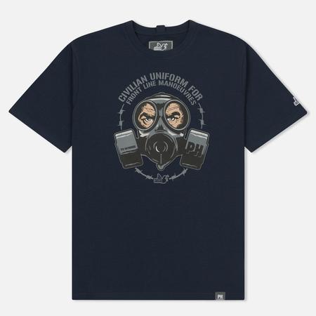 Мужская футболка Peaceful Hooligan Gas Navy
