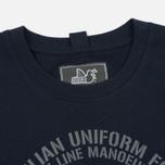 Мужская футболка Peaceful Hooligan Gas Navy фото- 1
