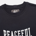 Peaceful Hooligan Gloves Men's T-shirt Navy photo- 1