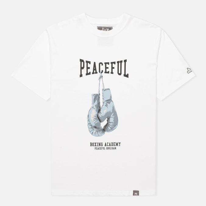 Мужская футболка Peaceful Hooligan Gloves White