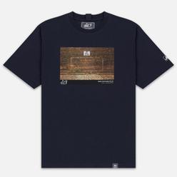 Мужская футболка Peaceful Hooligan Goal Navy