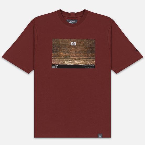 Мужская футболка Peaceful Hooligan Goal Sable