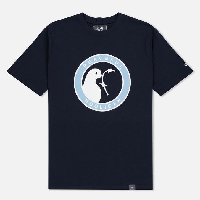Мужская футболка Peaceful Hooligan Heads Navy