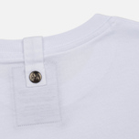 Мужская футболка Peaceful Hooligan Heads White фото- 4