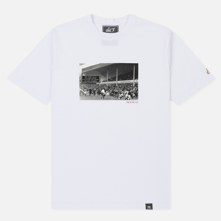 Мужская футболка Peaceful Hooligan Invasion White/Grey Print