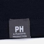 Мужская футболка Peaceful Hooligan Linear Navy фото- 3