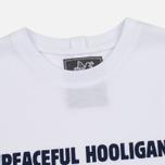 Мужская футболка Peaceful Hooligan Linear White фото- 1
