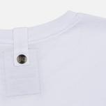 Мужская футболка Peaceful Hooligan Linear White фото- 4