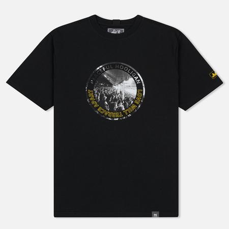 Мужская футболка Peaceful Hooligan Love Black