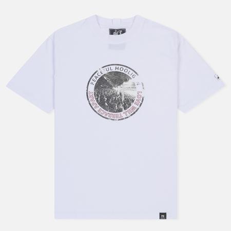 Мужская футболка Peaceful Hooligan Love White
