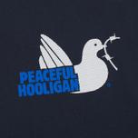 Peaceful Hooligan Mesh Dove Men's T-shirt Navy photo- 2