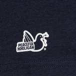 Peaceful Hooligan Mesh Dove Men's T-shirt Navy photo- 4