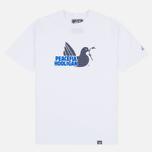 Мужская футболка Peaceful Hooligan Mesh Dove White фото- 0