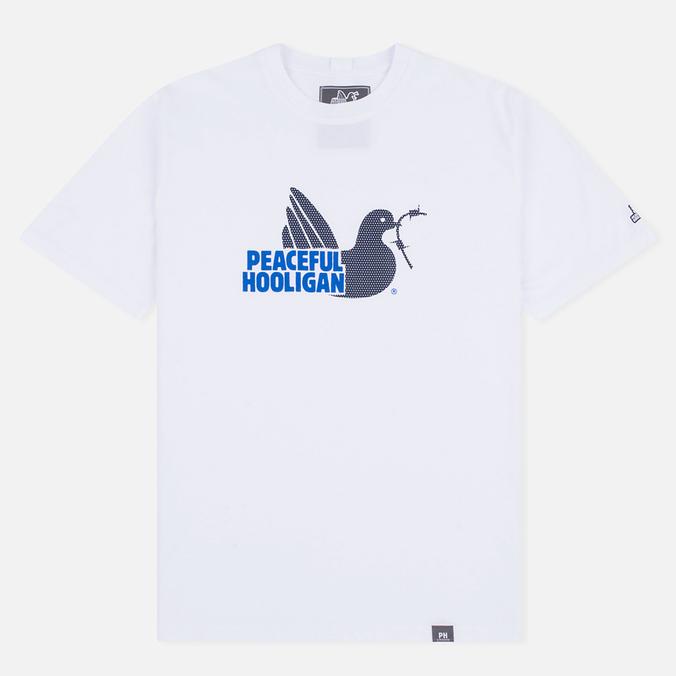 Мужская футболка Peaceful Hooligan Mesh Dove White