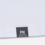 Мужская футболка Peaceful Hooligan Mesh Dove White фото- 3