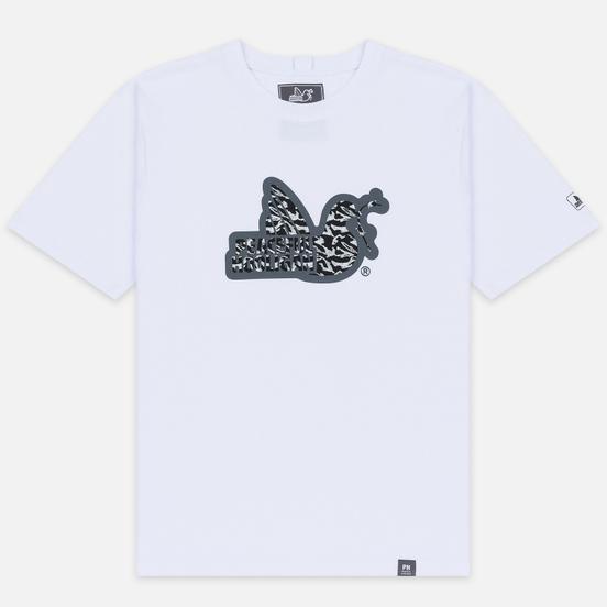 Мужская футболка Peaceful Hooligan Midnight Dove White