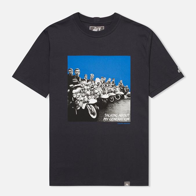 Мужская футболка Peaceful Hooligan Mod Navy
