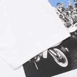 Мужская футболка Peaceful Hooligan Mod White фото- 4