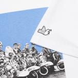 Мужская футболка Peaceful Hooligan Mod White фото- 3