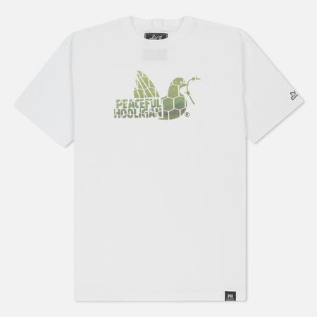 Мужская футболка Peaceful Hooligan Net Dove White