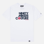 Мужская футболка Peaceful Hooligan Ninety Minute Couture White фото- 0